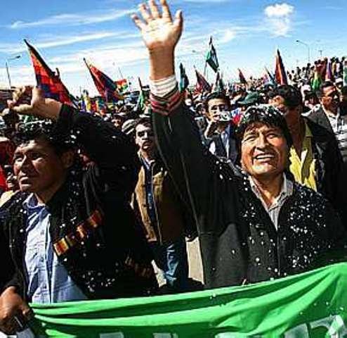 Executivos tentaram influenciar EUA sobre nacionalização do gás na Bolívia
