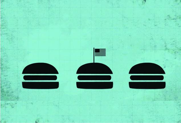 Os custos secretos dos hambúrgueres