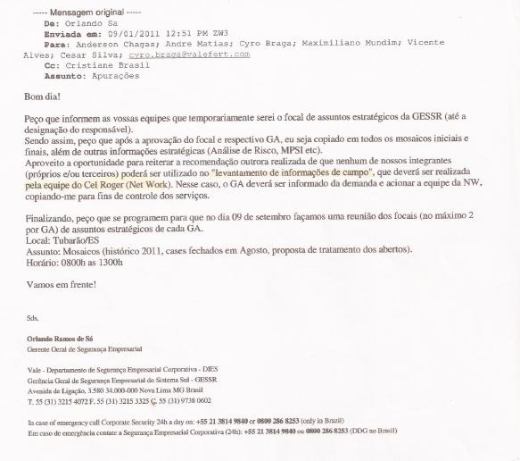 Orlando Sá - email