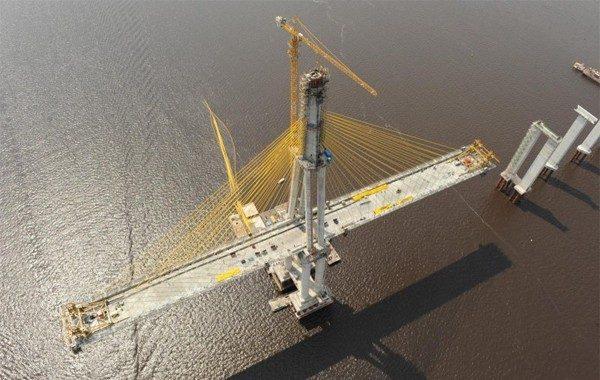 Concluída em 2011, a ponte sobre o Rio Negro, em Manaus, recebeu R$ 586 milhões do BNDES. A Pública obteve o cotrato de financiamento da obra.