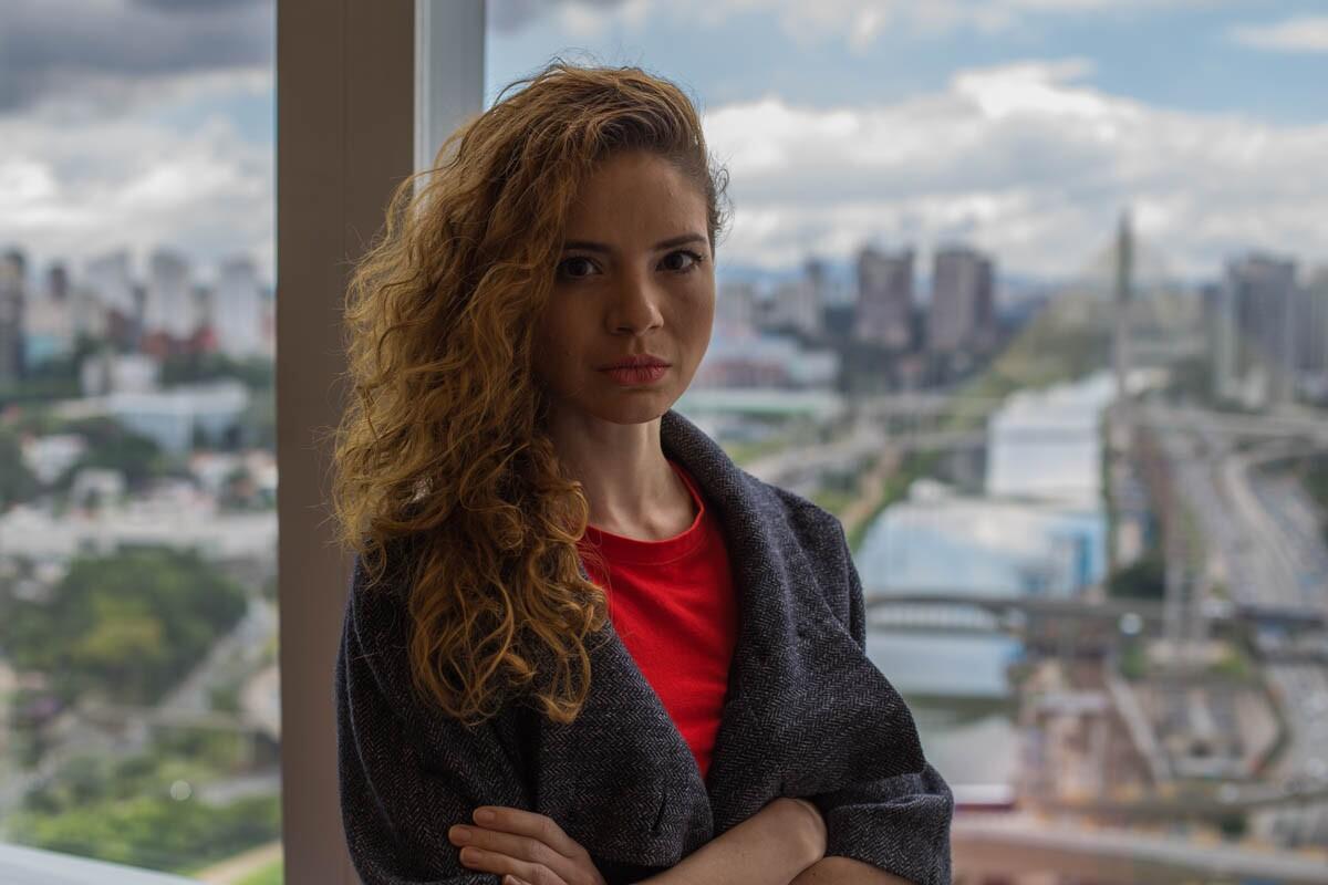 A gerente de planejamento Carla Purcino