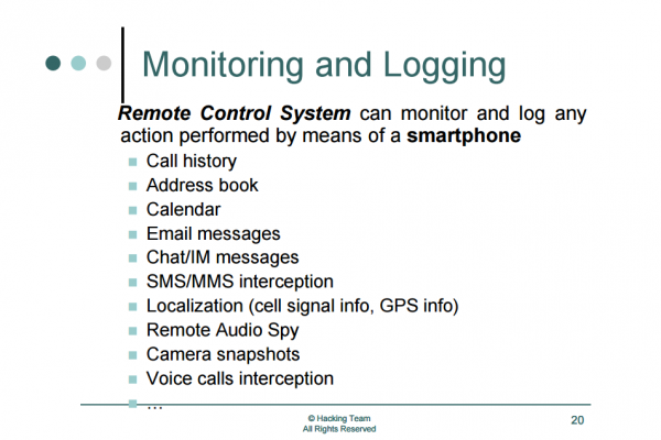 Foto_monitoring and logging