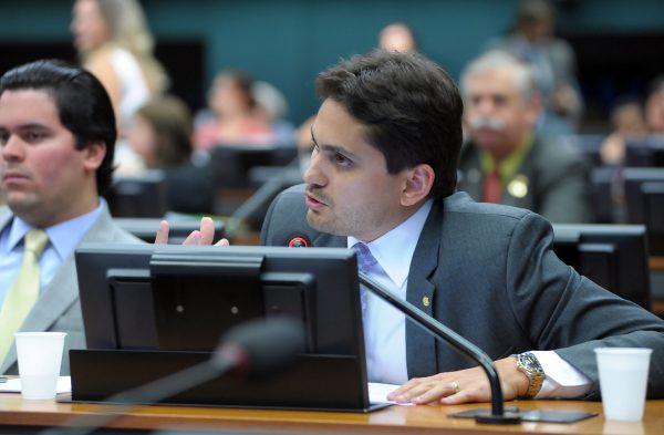 O deputado Juscelino Rezende Filho (PRP-MA), autor do substitutivo do PL Espião