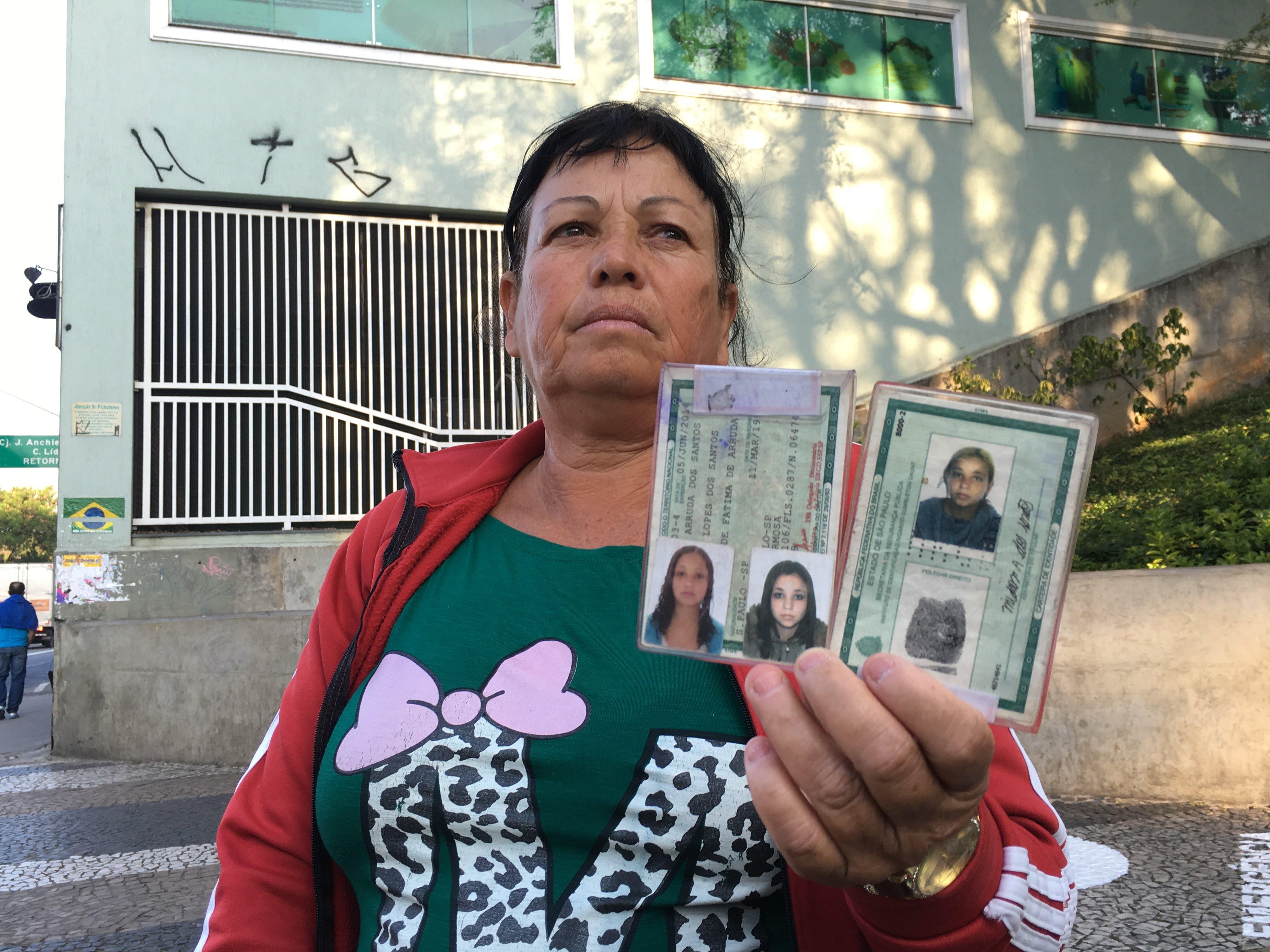 A mãe de Midian, (Foto: Ali Rocha/Agência Pública)